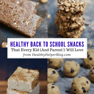 Healthy Back to School Snacks | Healthy Helper The ULTIMATE roundup of healthy back to school snacks that kids AND parents can agree on! Something for everyone whether you like sweet, salty, or savory snack foods.