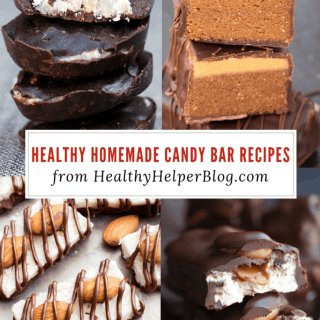 11 Healthy Homemade Candy Bar Recipes | Healthy Helper All your favorite candy bars gone HOMEMADE. Healthy, easy to make treats just in time for Halloween!