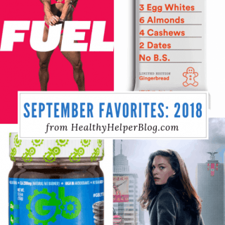 September Favorites: 2018 | Healthy Helper A roundup of my current favorite products, links, and things from around the web! Check out the list and find some new things to try for yourself.