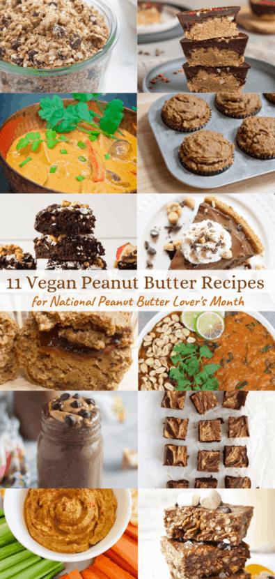 11 DELICIOUS Vegan Peanut Butter Recipes   Healthy Helper