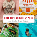 October Favorites: 2018