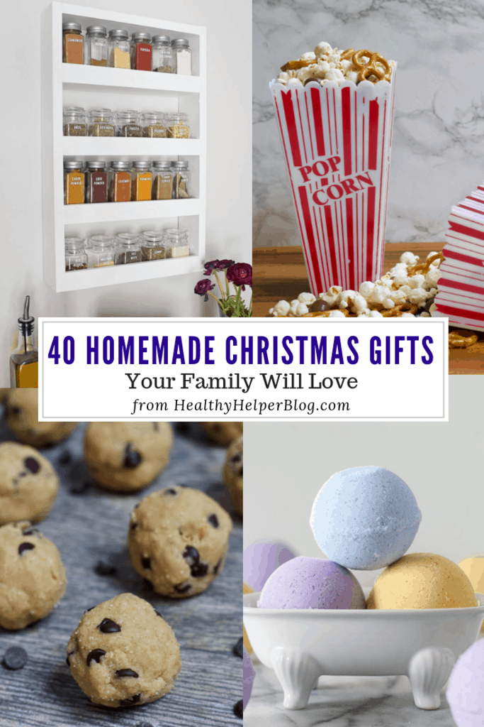 41 Homemade Christmas Gifts Your Family Will Love • Healthy Helper