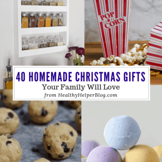 41 Homemade Christmas Gifts Your Family Love | Healthy Helper A roundup of homemade, DIY Christmas gifts that your loved ones will love to receive for the holidays this year!