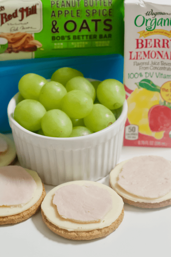 Grown-Up Lunchables   A more sophisticated version of your favorite childhood lunch! These Grown-Up Lunchables are made with wholesome, high quality ingredients unlike their processed counterparts and make for an easy, healthy lunch to take on the go.
