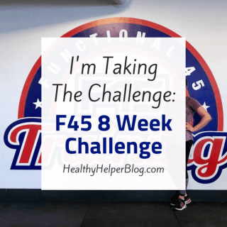 I'm Taking the Challenge: F45 8 Week Challenge   An announcement of my participation in the latest F45 challenge! Plus the WHY behind my decision to take on this fitness/nutrition challenge and what got me to this point.