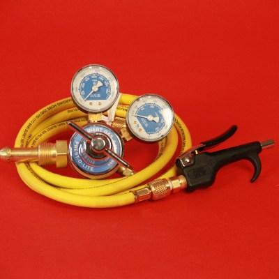 Nitrogen Cleaning Kit (Regulator, Hose and Nozzle)