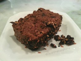 Zucchini chocolate loaf