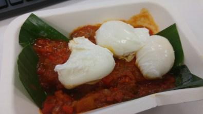 BREAKFAST: Shakshuka with egg
