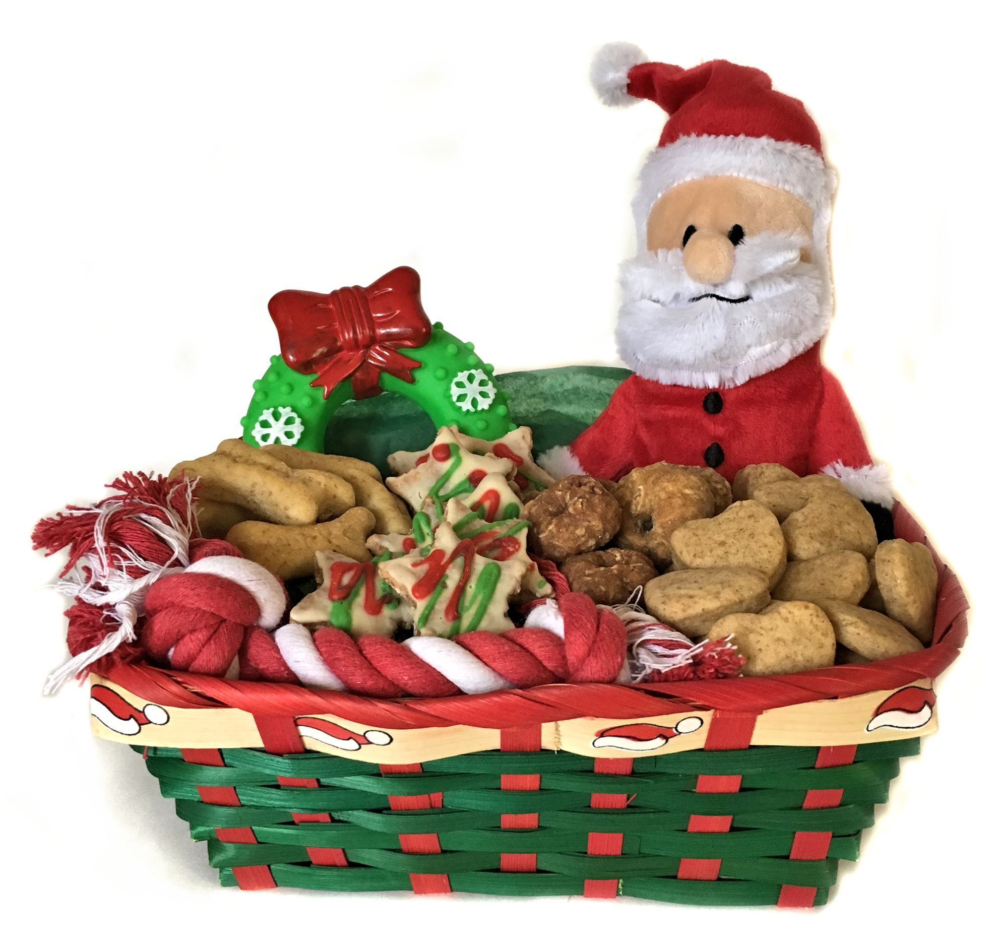 Small Dog Holiday Gift Basket Healthy Hound Bakery