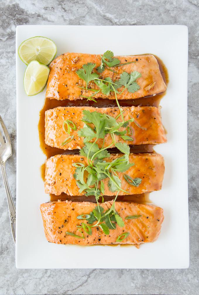 Vietnamese Caramel Salmon ( Instant Pot)
