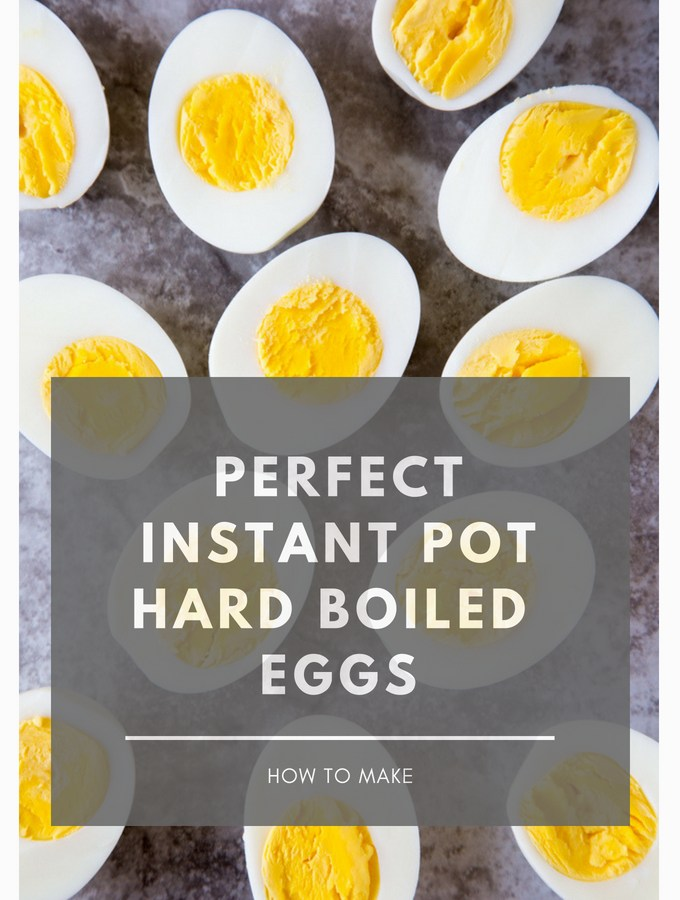 How to Make Perfect Instant Pot Hard Boiled Eggs