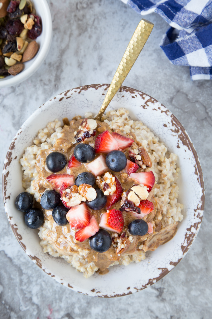 How to Make Steel Cut Oats { Instant Pot}
