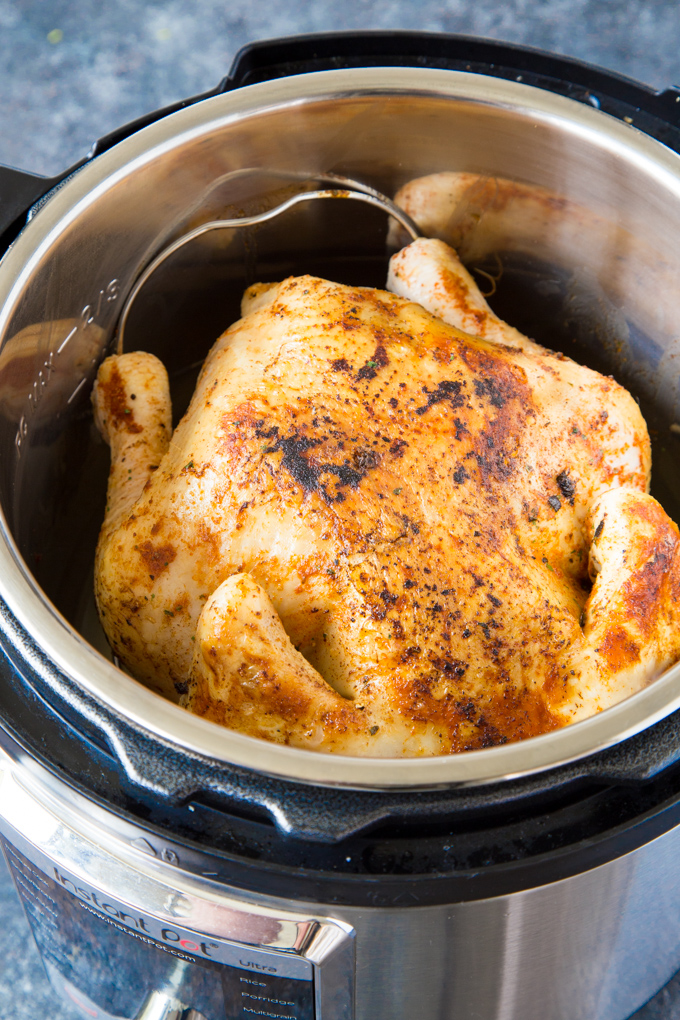 Instant Pot Fall Off the Bone Whole Chicken