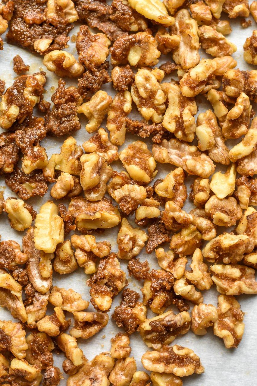 spicy walnuts