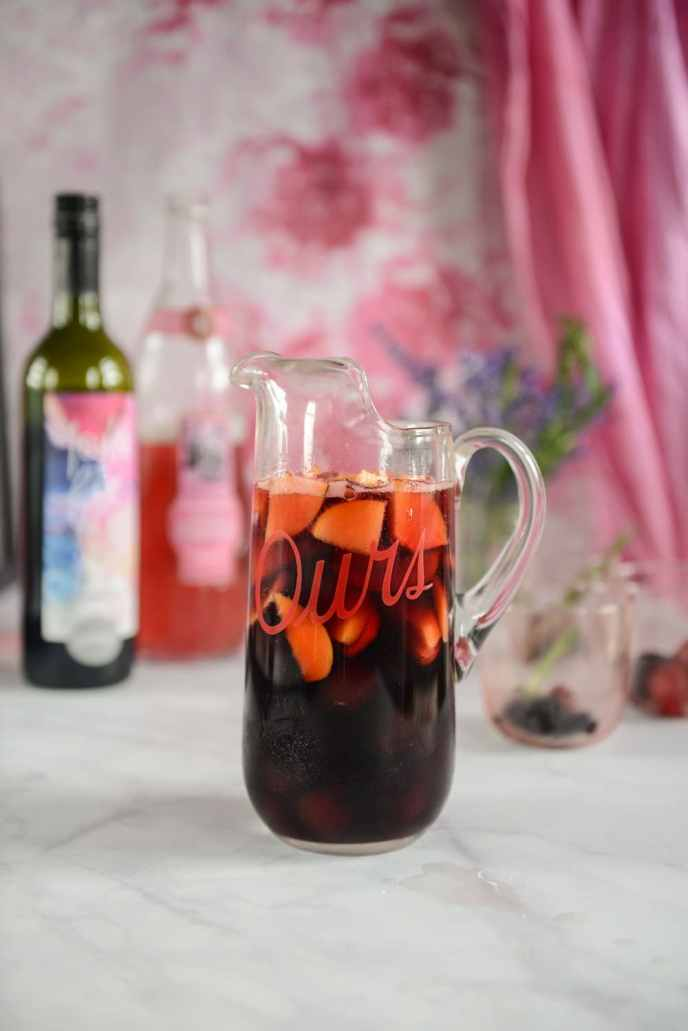Red Wine Sangria Recipe and How to Use the Leftover Sangria Fruit via HealthyishFoods.com