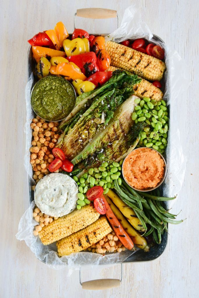 Sweet and Savory Spreads for Summer Entertaining // www.HealthyishFoods.com