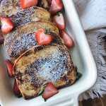 Healthyish Vanilla Maple French Toast – Holiday Breakfast Made Easy