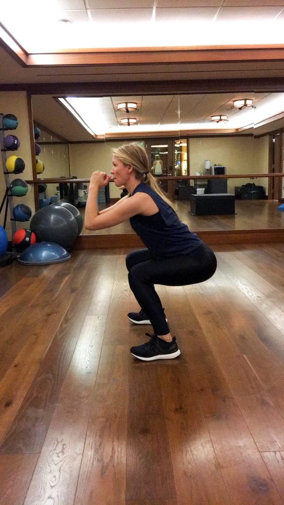 squats can actually help you improve both your upper and lower body strength.
