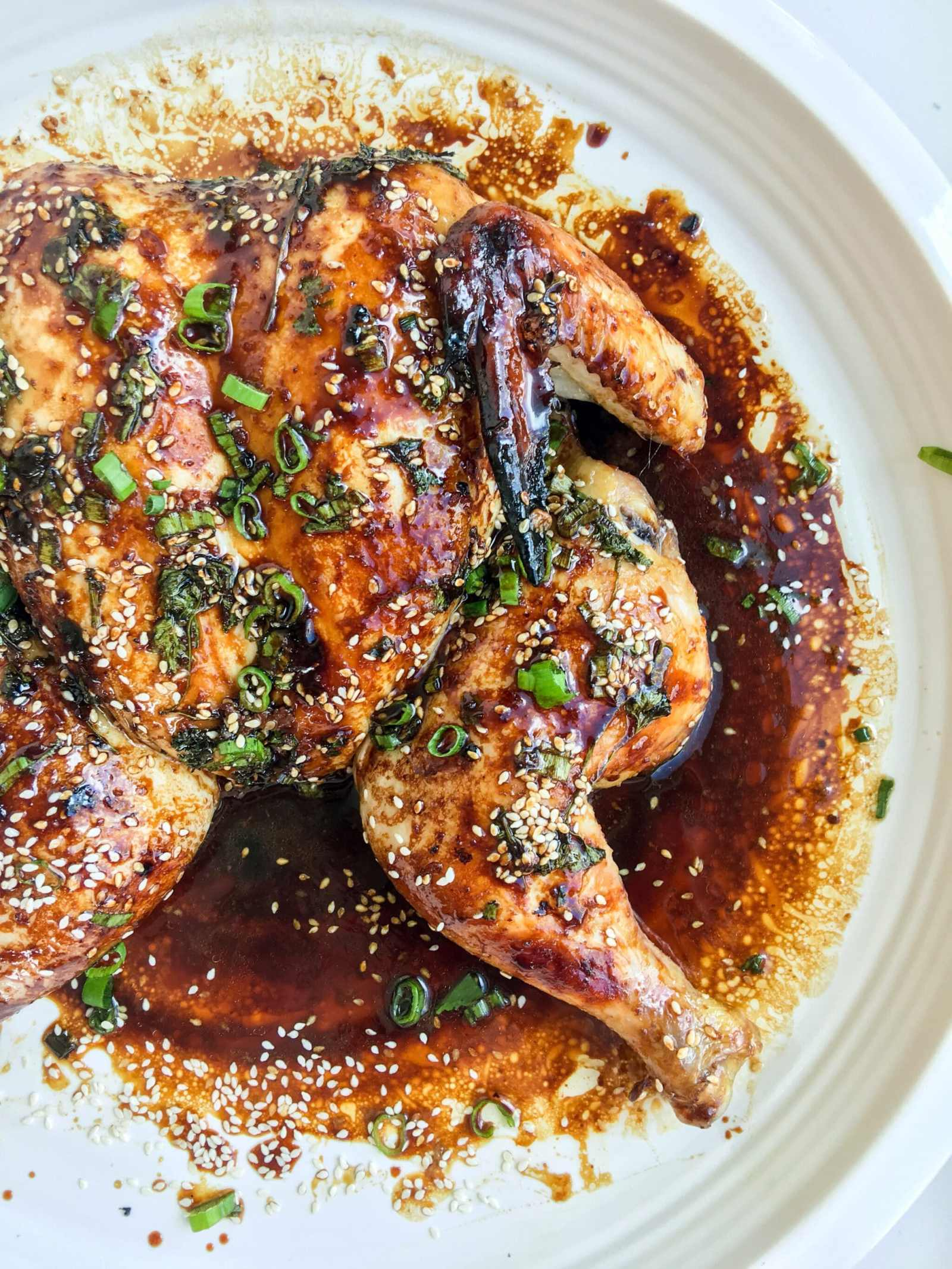 Sesame Honey Roasted Chicken, A Healthyish Brand Recipe