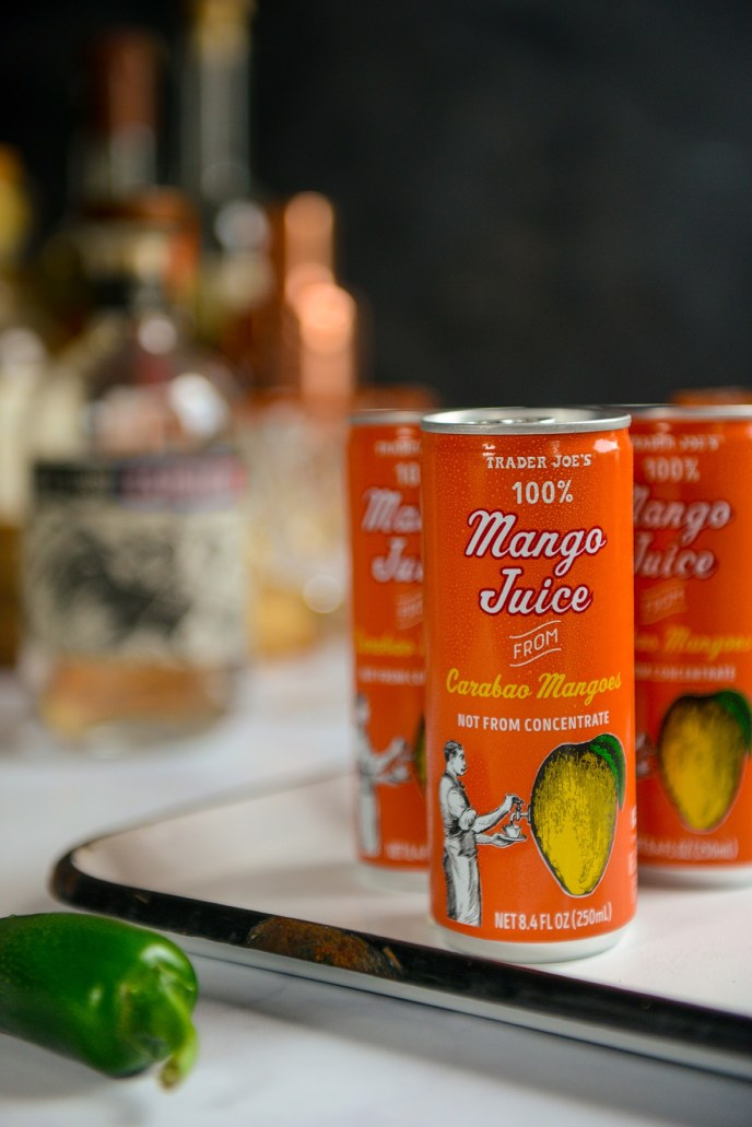 Mango Jalapeño Margaritas and Cakes for #HealthyishHappyHour // www.HealthyishFoods.com