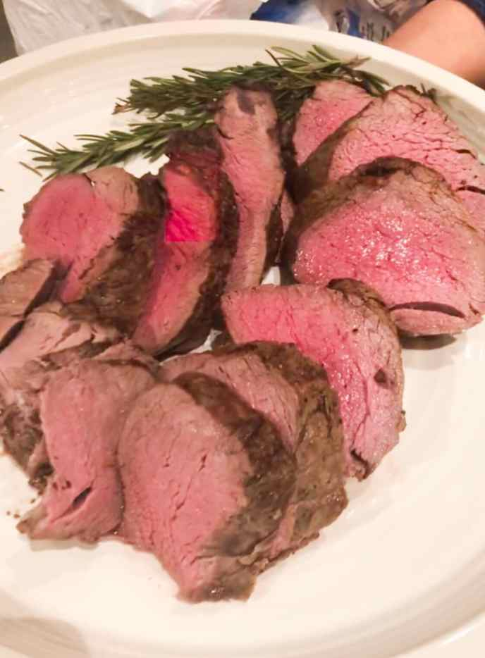 Whole filet mignon - Healthyish holidays