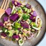 White Bean and Sweet Potato Salad