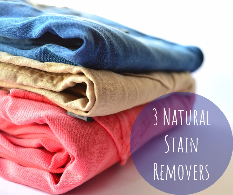 3 Natural Stain Removers