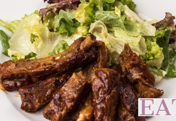 One Pot Sweet Chili Beef Ribs and Rice in the Instant Pot, Easy Dinner