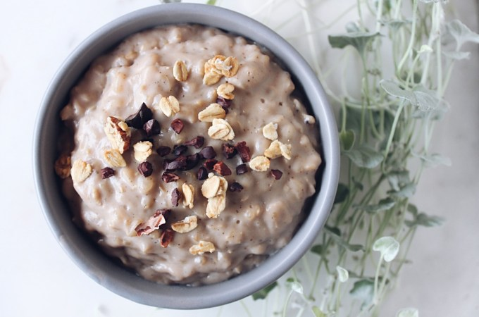 Warming Brown Rice Pudding
