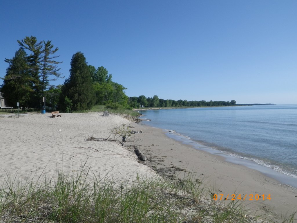 Beach on Lake Superior