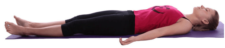 Image result for yoga Corpse Pose