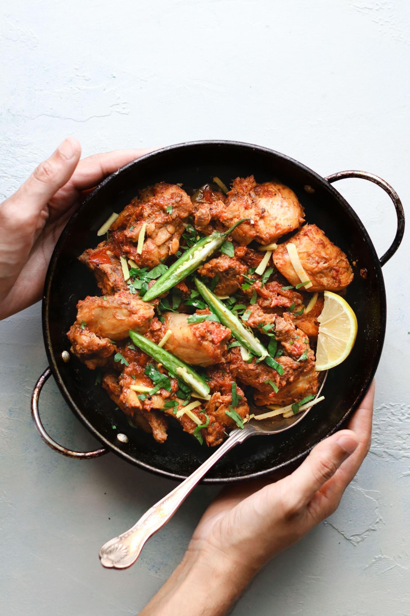 Chicken Karahi (Wok)