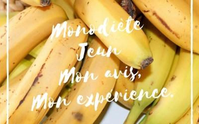 Monodiète – Jeun, mon avis mon expérience