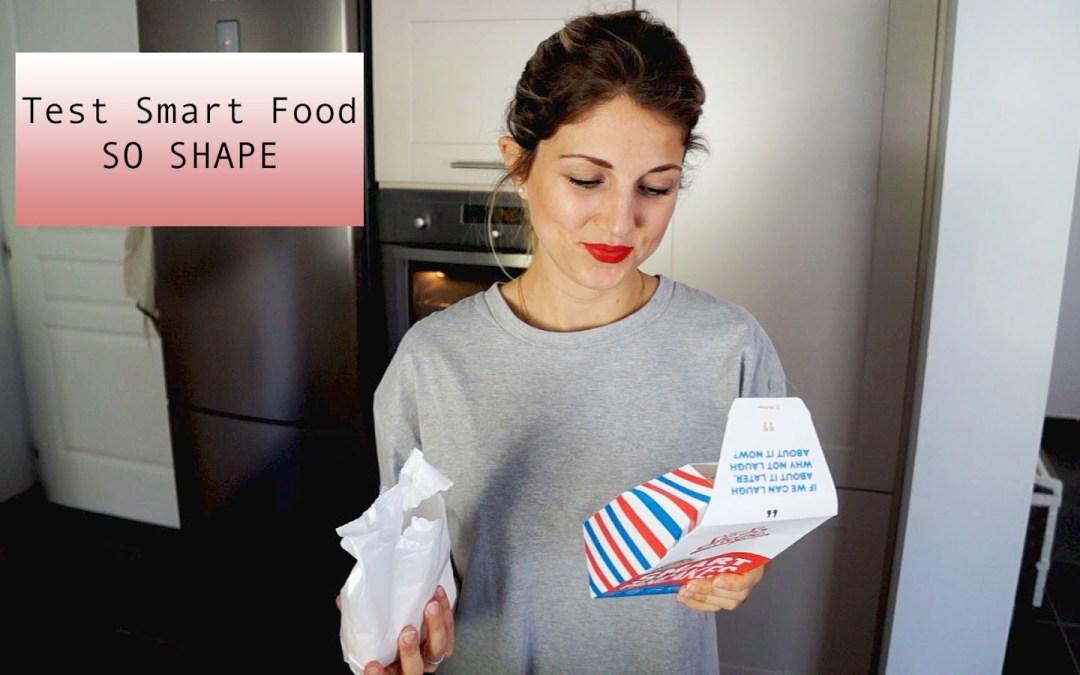 Test Smart-Food So Shape : en image ^^