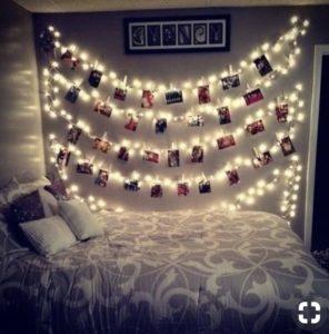 idée saint valentin décoration bougie lumière photo ambiance romantique