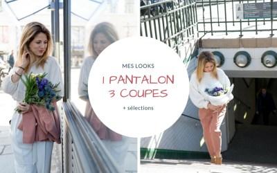Look : Pantalon large à carotte pincé et ma sélection