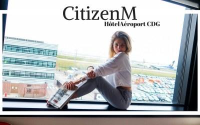 L'hôtel CitizenM – Aéroport CDG Paris