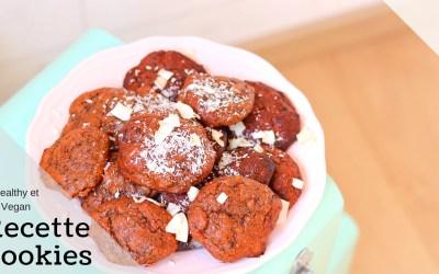 Cookies Moelleux Vegan Healthy
