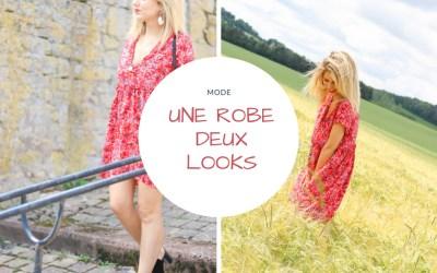 Une robe deux looks