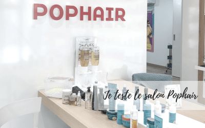 Je teste le salon POP HAIR
