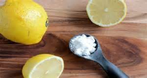 Lemon and Baking Soda : A Miraculous Combination