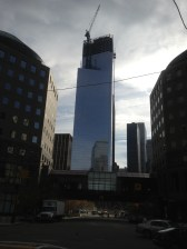 This is the building that the crane broke on.
