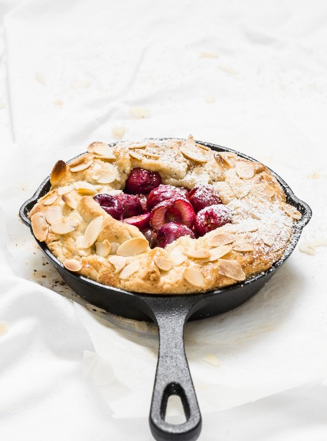 CHERRY GALETTE WITH CARDAMOM CRUST / ASSAULT ON THE SENSES