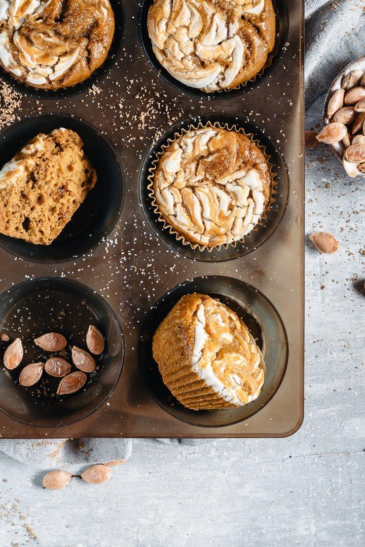 la ricetta semplice dei muffins alla zucca