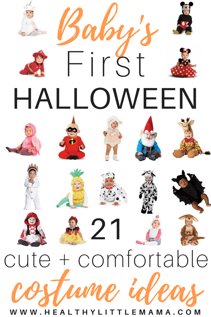 baby's first halloween costume ideas - healthy little mama