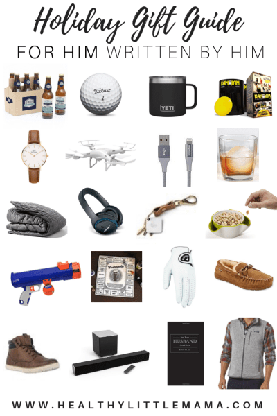 Christmas Gifts For Dad 2018.Holiday Men S Gift Guide Healthy Little Mama