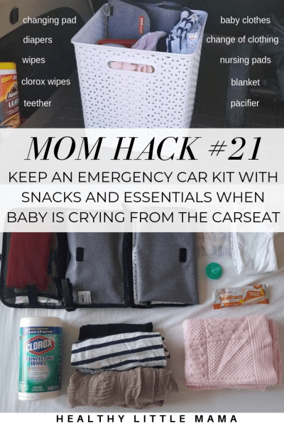 BABY HACKS + MOM TIPS - Healthy Little Mama