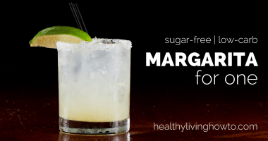 Margarita For One! {sugar-free & low-carb}