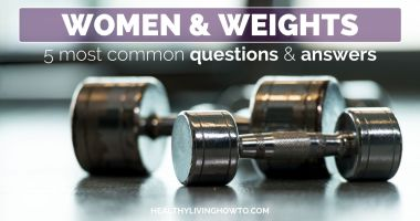 5 Questions Women Have About Weight Training