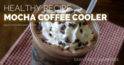 Dairy Free Mocha Coffee Cooler | healthylivinghowto.com